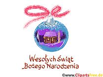 Wesołych Świąt I Szczęśliwego Nowego Roku Powitanie Karta