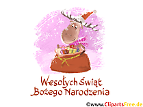 Wesołych Świąt i szczęśliwego nowego roku z życzeniami