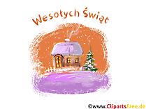 Życzenia na Boże Narodzenie. Obrazki i wierszyki