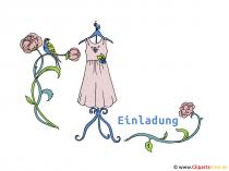 Clipart Kleid