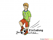 Uitnodiging voetbalwedstrijd