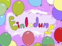 Çocuk doğum günü davetiyeleri baskı için