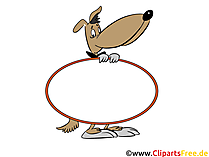 Leeg teken voor grafisch etiket Clipart