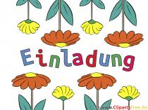 Vorlage für EInladung zum Geburtstag