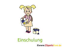 Schulbeginn Clipart