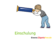 Schulkind Bild, Clipart, Cartoon gratis
