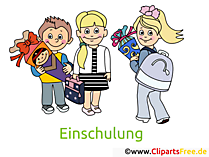 Schulkinder Bilder, Cliparts, Cartoons gratis