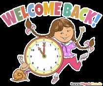 Willkommen in Schule PNG Clipart transparent, Bild, Grafik