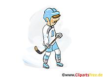 Clipart Hockey kostenlos