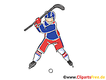 Eishockey Ausruestung Bild, Illustration, Clipart, Comic, Cartoon gratis