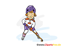 Eishockey Clipart und Illustrationen