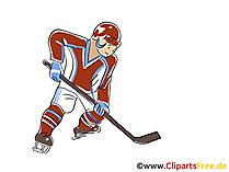 Eishockey Weltmeisterschaft Clipart, Bild, Cartoon, Illustration kostenlos