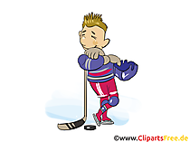 Free hockey clipart
