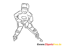 Hobby Eishockey Bilder zum Ausmalen