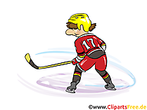 Hockey Clipart and Cartoon Illustrations