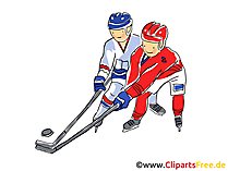Ice hockey world championship illustration, clip art, image, comic, cartoon free