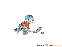 Lustige Eishockey Bilder, Cliparts, Comic, Cartoons gratis