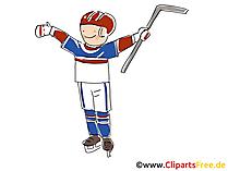 Weltmeisterschaft  Eishockey Clipart, Bild, Cartoon, Illustration kostenlos