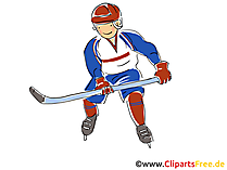 WM Eishockey Clipart, Bild, Comic, Cartoon, Illustration kostenlos