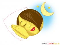 Schlafender Smiley
