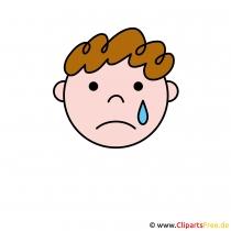 Weinen Smilie