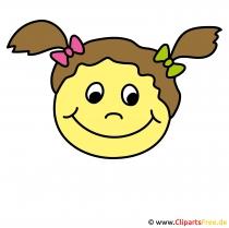 Witzige Smileys