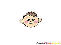 Froh Clipart, Bild, Cartoon, Comic, Illustration gratis