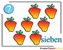 Appels cliparts gratis eten