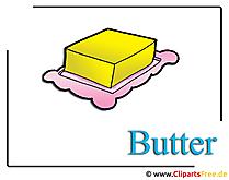 Boter clipart voedselvrij