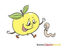 Cartoon apple clip art, foto, illustrazione