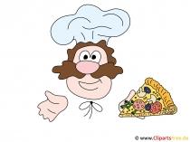 Clipart chef-kok