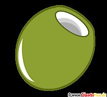 Clipart olijfgroen