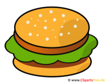 Comic Hamburger
