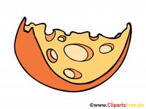 Käse Zeichnung, Comic, Clipart free