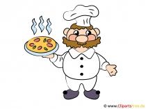 Chef-kok cartoon