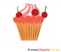 Cakebeeld, clip art, afbeelding, grafisch, illustratie gratis