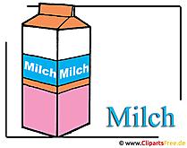 Melk clipart afbeelding gratis