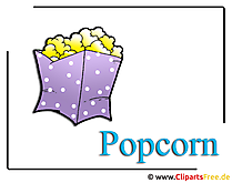 Popcorn Clipart Food free
