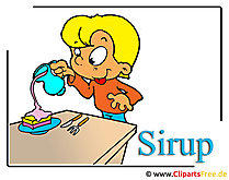 Sirup Clipart gratis mad