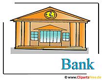 銀行クリップアート無料金融