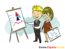 Businessplan Clipart, Bild, Grafik, Cartoon gratis