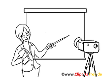 Coaching Clipart, Bild, Zeichnung, Cartoon