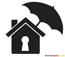 Diebstahlversicherung Clipart