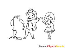 Erfolg Clipart, Bild, Zeichnung, Cartoon