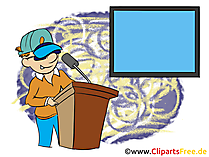 Filmproduzent Bild, Clipart, Grafik, Cartoon, Illustration