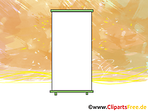 Flip-Chart Bild, Clipart, Grafik, Cartoon, Illustration