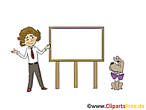 Flip-Chart Clipart, Bild, Grafik, Cartoon gratis