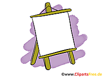 Flipchart Clipart, Bild, Grafik, Cartoon gratis