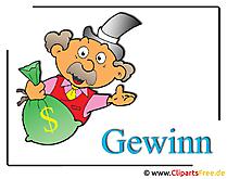 Gewinn Clipart Geldsack free