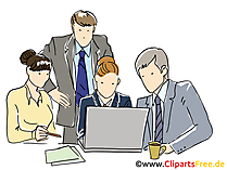 Meeting Illustration, Clipart, Image